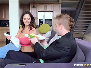 Ava Addams is pulverized in both her raw fuck-holes