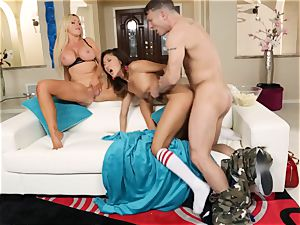 Alina Li shares her boy with scorching mother Nikki Benz