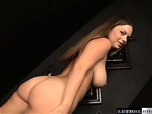 Katy Karson deepthroating manmeat