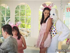 Family masturbates dad ally comrade s daughter and step romps his Uncle plumb Bunny