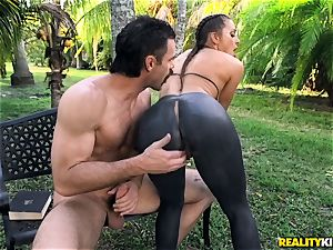 Abigail Mac penetrated in her taut slit