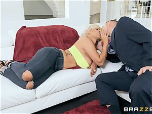 Bridgette B screwing her hubbies chief