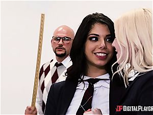 mischievous student deserves to be penalized for her misbehavior