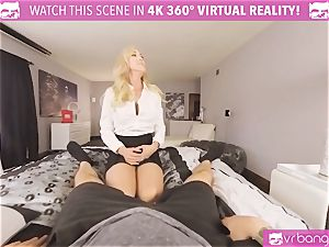 VRBangers.com-MILF is tucking a vibrator in her slit