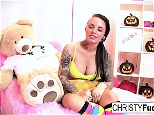 Christy Mack plays with herself